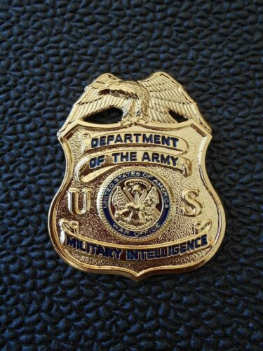 US ARMY Military Intelligence   Mini Badge    with pins