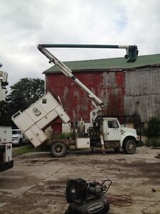 1991 international bucket truck