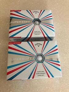 Callaway Supersoft Golf Balls x 24 - Brand New
