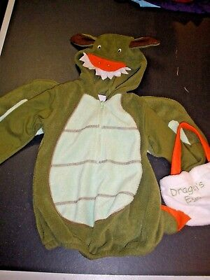Baby Grand Dragon Halloween Costume size 12 month with egg bag - Egg Halloween Costume