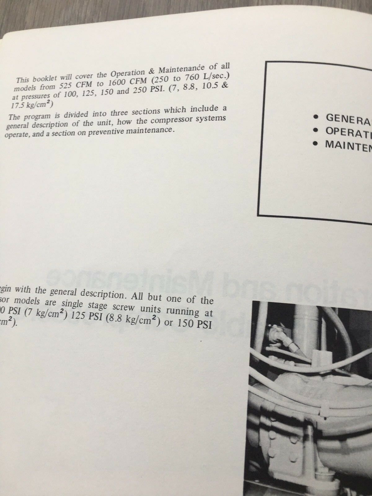 2 of 6 Ingersoll Rand Large Air Compressor Operation & Maintenance Manual  Inc Vat 3 of 6 Ingersoll Rand ...