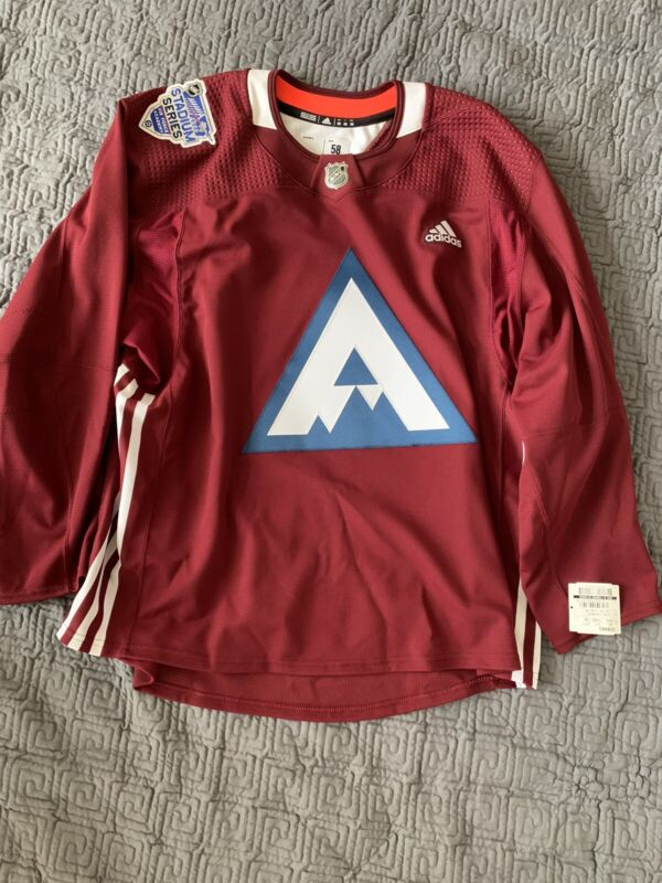 Colorado Avalanche Stadium Series Practice Jersey (sz 58) (made In Canada)