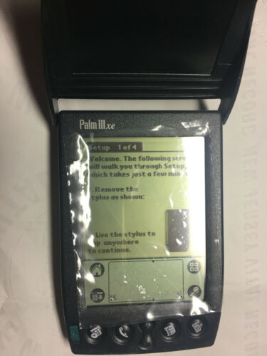 Palm IIIxe 3xe LCD Digital PDA vintage in open box