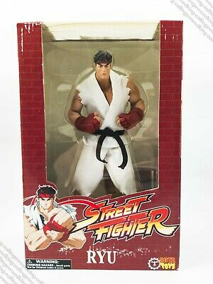 "2005 SOTA Street Fighter Rotocast series Ryu 10"" action figure MISB - Capcom for sale  Shipping to India"