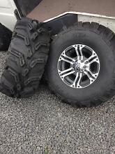Motorbike tyres x4 Rokeby Clarence Area Preview