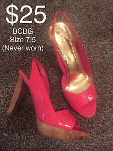 Woman's shoes for sale. Sizes 7-8