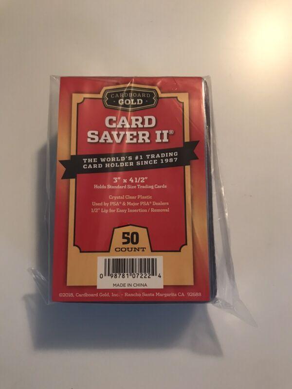 100 Ultra Pro Semi Rigid Card Holders PSA BGS Grading Submission Tall #43000