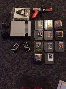 Original Nintendo with games