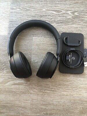 Beats Solo Pro Wireless Noise Cancelling On-Ear Headphones - Black - Authentic
