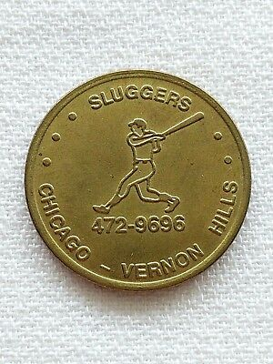 TOKEN I Saw The Lights Wrigley Field Chicago 8/8/88 Sluggers Vernon Hills - Vernon Hills Lights