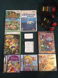 Video games various consoles