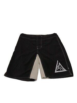 Men's Gracie Jiu Jitsu Athletic Shorts Size 36 Nogi MMA Black