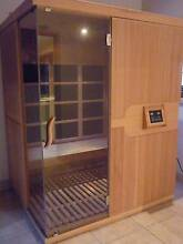 LUXO 3 PERSON FAR INFRARED CARBON FIBRE PANEL SAUNA Frenchs Forest Warringah Area Preview