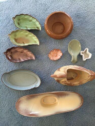 Vintage Frankoma pottery flower vase, serving dish, bowl, and more $15 each