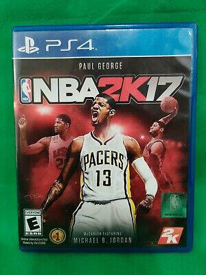 NBA 2K17 PS4 IN GREAT CONDITION WITH BOOKLET comprar usado  Enviando para Brazil