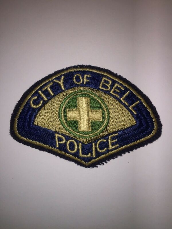 Very Old Bell California Police Patch