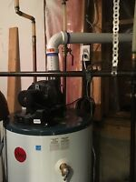 Hot water tanks replaced at low prices