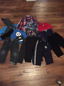 Toddler boy Fall Lot