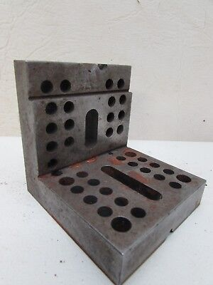 Machinist Fixture Angle Plate Step Block Grinding Milling Jig Set Up Inspection