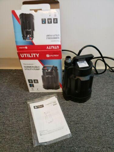 Utilitech 0.167-HPThermoplastic Submersible Utility Pump (USED)