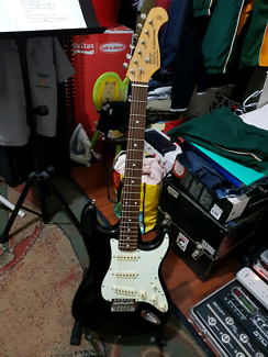 SX Stratocaster-style guitar