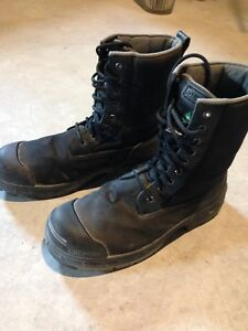 Steel toed boots - Men's size 14. Worn only once