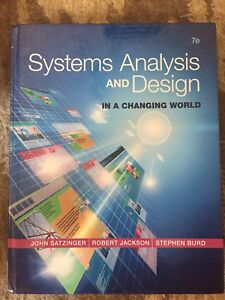 Systems analysis and design. In a changing world.