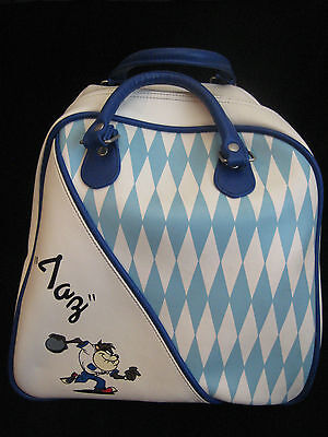 Vintage Taz Bowling Bag Tasmanian Devil Looney Toons on Rummage