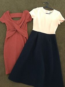 2 maternity dresses, size 6, almost new Narangba Caboolture Area Preview