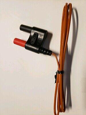 Fluke Thermocouple Adapter Dual Banana-k-type New