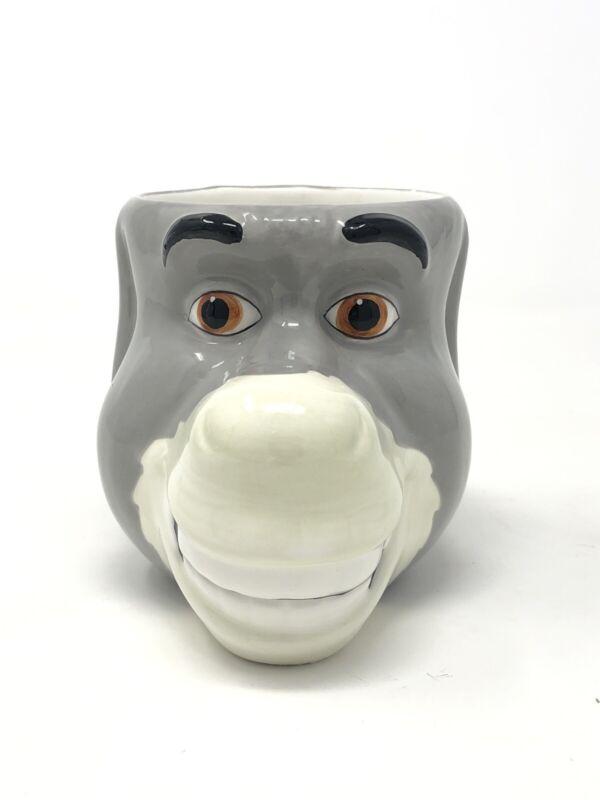 Shrek With Dream Works Ceramic Donkey Head Galerie Mug/Cup 2004
