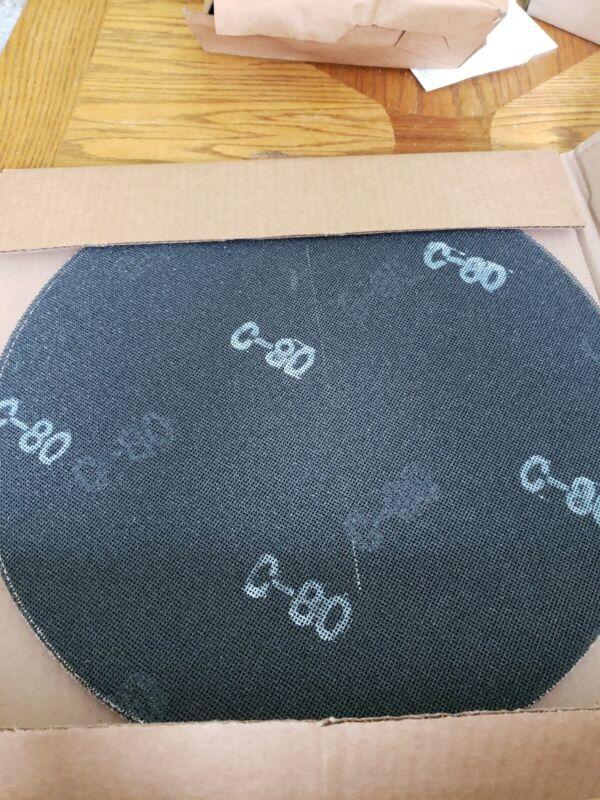20 SAND SCREEN DISC 17 INCH 80 GRIT BOX-SC18