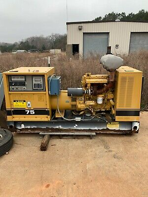 Cat 75kw Commerical Industrial Diesel Generator With Automatic Battery Charger
