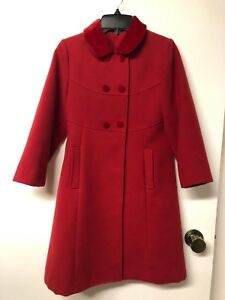 Girl size 8 dress coat
