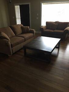 Couch and love seat in West Kelowna