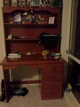 desk with book case Wattle Grove Liverpool Area Preview