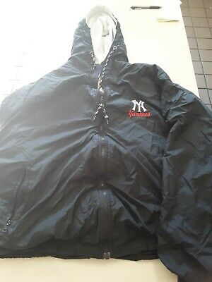 Ny yankees hoodie jacket size XL black
