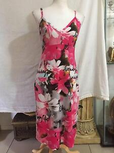 Hibiscus Nightdress & Kimono Style Dressing Gown Set Size S/M Capalaba Brisbane South East Preview