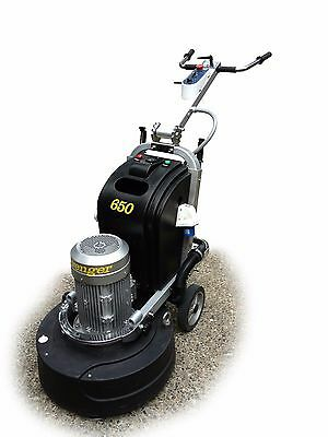 Avenger 650 Concrete Floor Grinderpolisher By Levetec