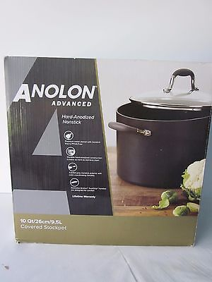 Anolon Advanced 10-Qt. Hard-Anodized Nonstick Covered Stockpot