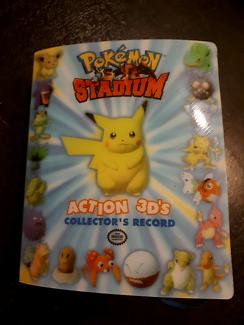 Pokemon stadium action 3D set
