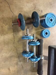 Weight bench and weights Warrnambool Warrnambool City Preview