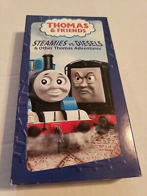 Thomas the Tank Engine Steamies vs. Diesels VHS 2004 HiT Entertainment