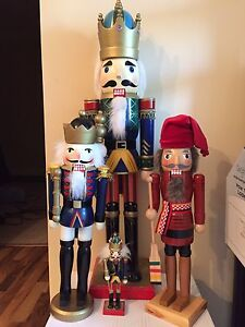 Nutcrackers , assorted
