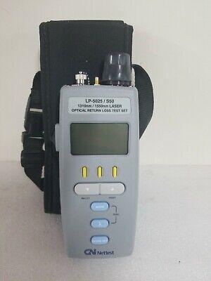 Gn Nettest Laser Precision Lp-5025 S50 Sm Fiber Optic Loss Test Set Lp 5025