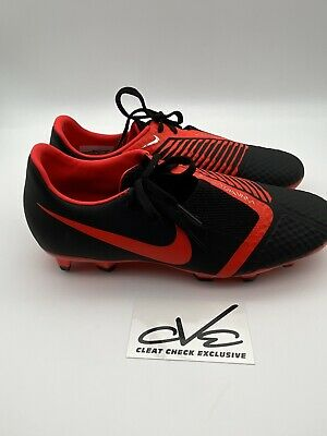 Nike Phantom Venom Academy FG Soccer Cleats Men's Size 8 Black  Red
