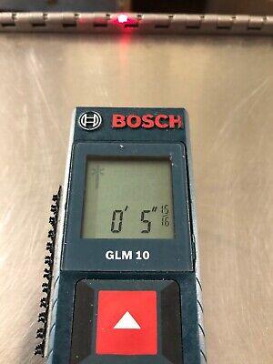 Original Bosch Glm 10 Laser Measure Glm10 Digital Laser Tape Ruler Distance