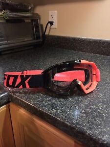 Fox Racing Main 180 Race Goggles - Brand New Condition!
