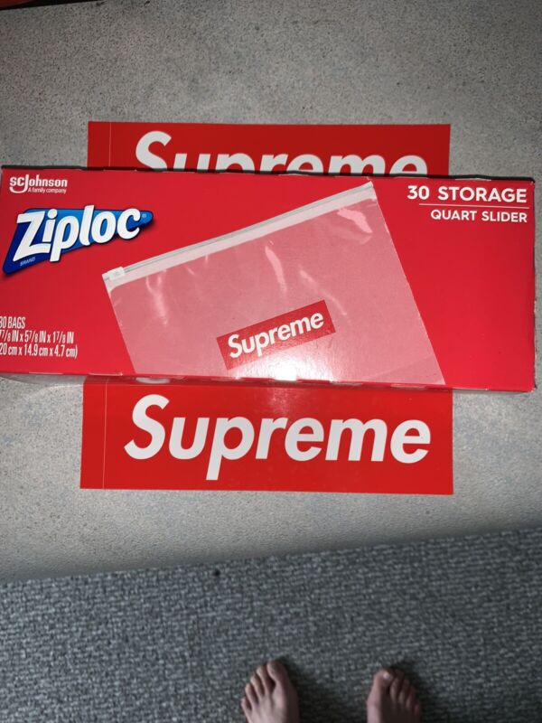 Supreme®/Ziploc® Bags (Box of 30) Confirmed Order