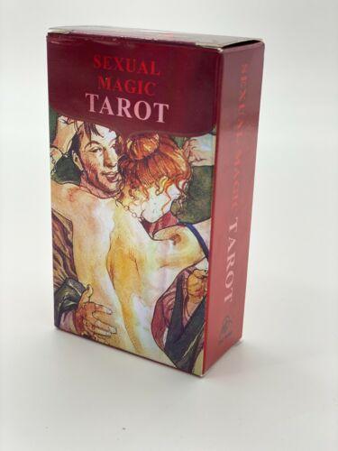 Sexual Magic Tarot Deck Cards| Super Magic Erotic Tarot 78 cards Adults Only